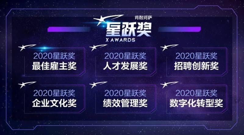 """肯耐珂萨2020""""星跃奖""""启动,寻找中国人力资本管理的创新实践"""