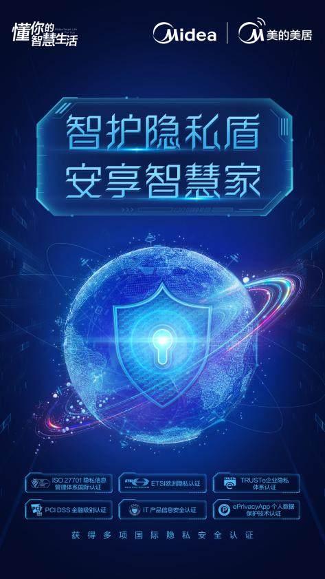 行业领先,美的智能家居隐私安全通过多项权威认证
