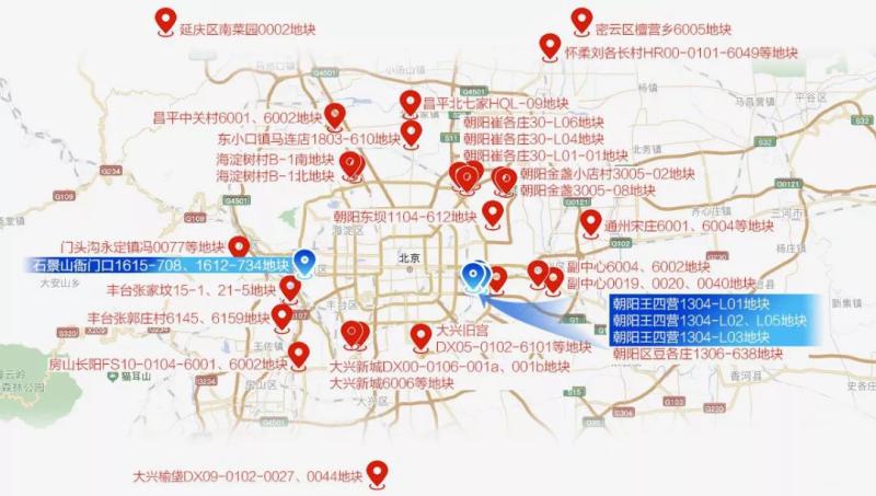 重磅:北京迎来首次集中供地,单价27000元/m2共产房,仅房山长阳1宗!