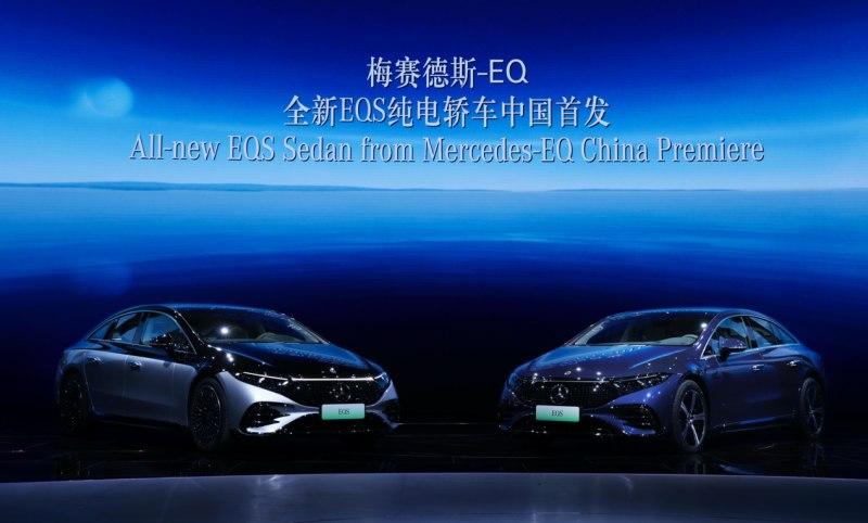 """汽车发明者""""动真格"""":全新EQS中国首发,刷新电动豪华认知"""