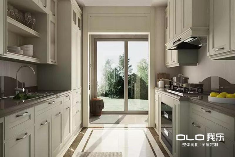 从细节处给以厨房以大气、雅观的视觉感觉